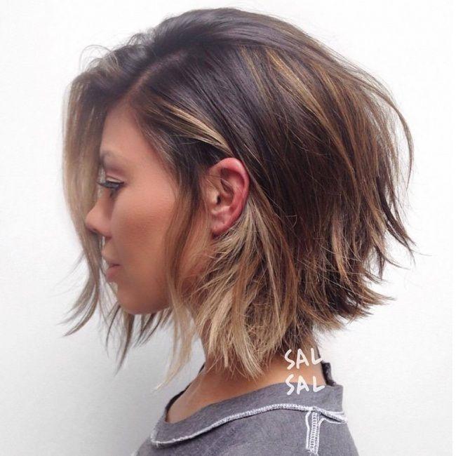 Photo coupe cheveux mi long