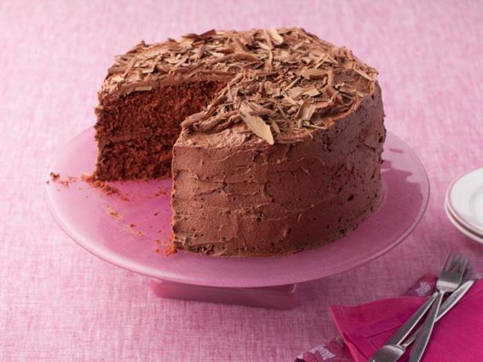 les gâteaux anniversaires au chocolat les plus délicieuses, dessert moelleux au chocolat