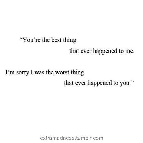 Imágenes De Your The Best Thing That Ever Happened To Me Quotes Tumblr