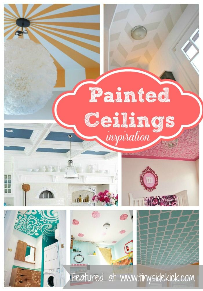 Best Decor Hacks : So many ways to dress up your ceilings with paint!…
