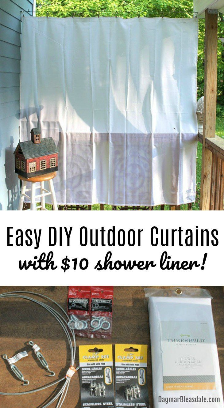 Best decor hacks the easiest and cheapest way to hang for Outdoor decorating hacks