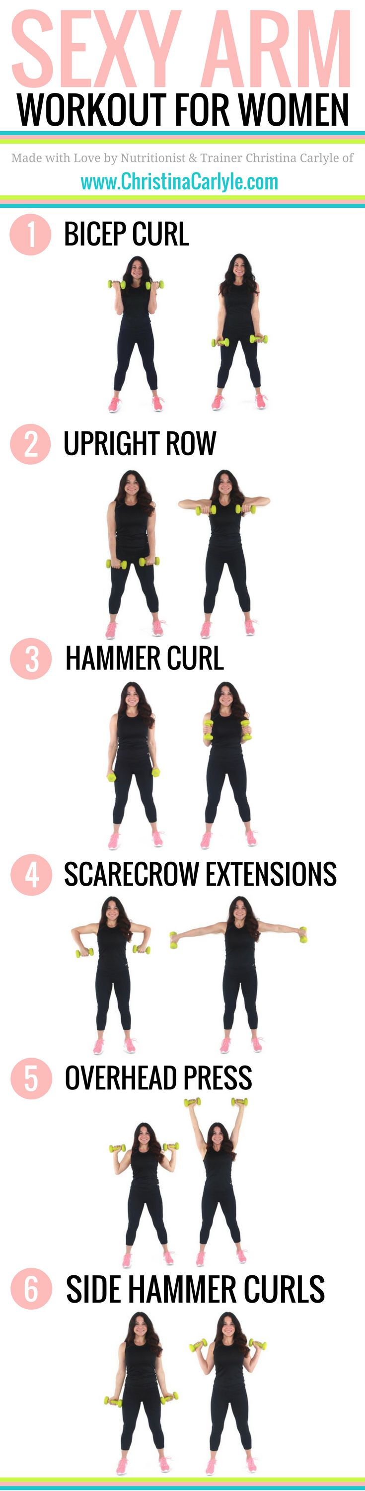 Fitness Motivation Do Your Arms Make You Self Conscious This Arm Workout For Women Will Help