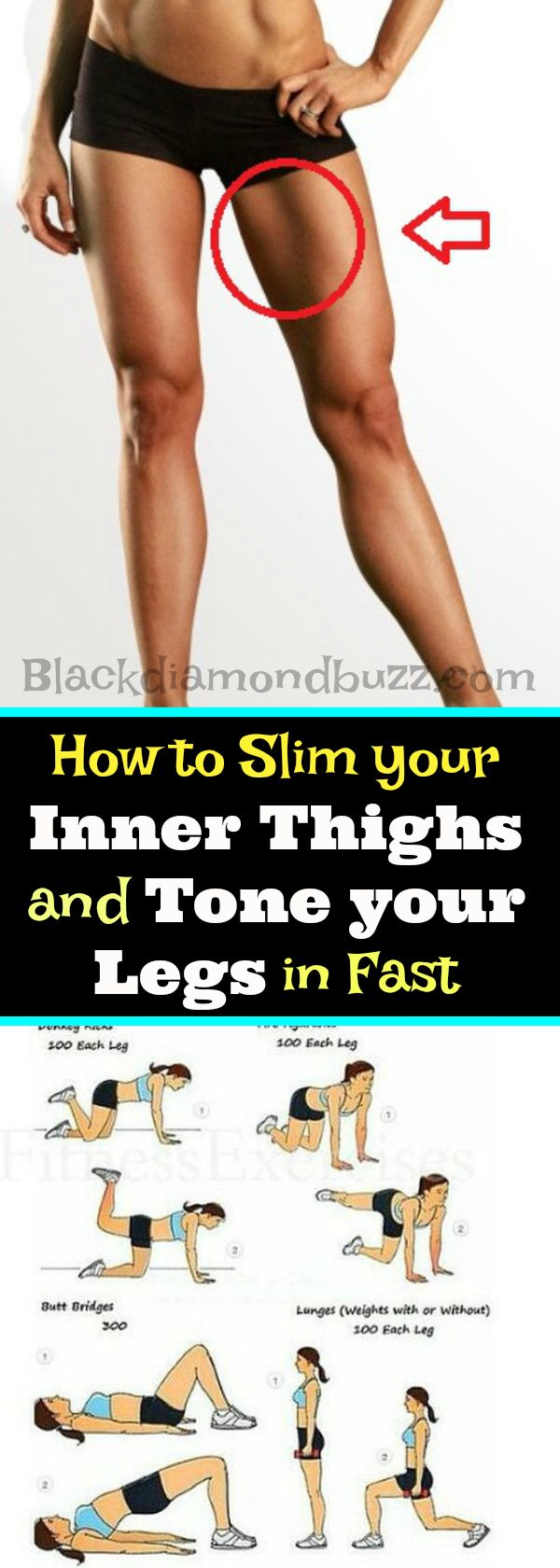Fitness Motivation : How to Slim your Inner Thighs and ...