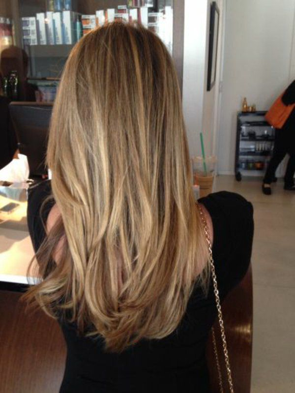 Id e tendance coupe coiffure femme 2017 2018 balayage for Idee coupe couleur cheveux long
