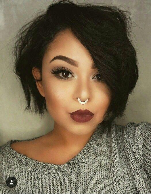 Id e tendance coupe coiffure femme 2017 2018 les meilleures id es de couleurs pour cheveux - Idees coupes courtes femmes ...