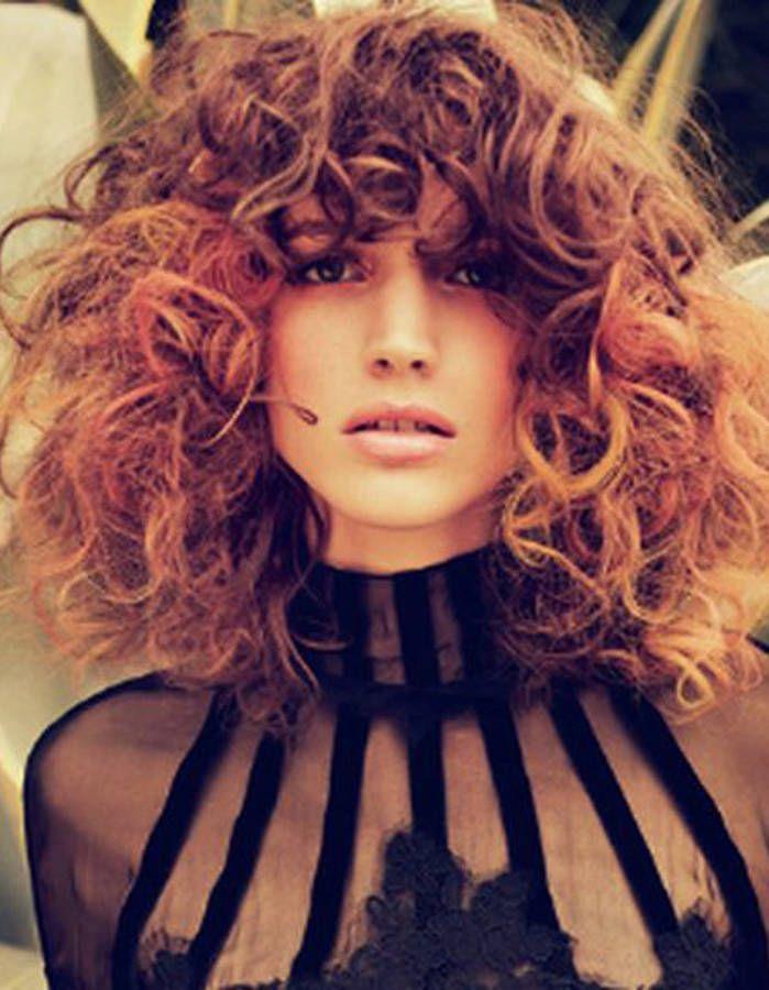 id e tendance coupe coiffure femme 2017 2018 cheveux boucl s naturellement automne hiver. Black Bedroom Furniture Sets. Home Design Ideas