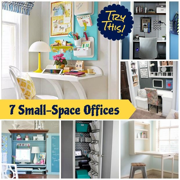 Best Decor Hacks How To Create A Small Space Office In A