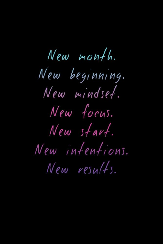 Fitness Motivation : New month, new beginning! Make a ...