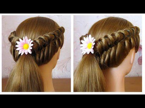 Id e tendance coupe coiffure femme 2017 2018 tuto coiffure simple cheveux long coiffure - Coiffure femme facile a faire ...