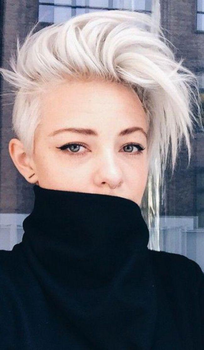 id e tendance coupe coiffure femme 2017 2018 blond polaire 37 photos qui vont vous faire. Black Bedroom Furniture Sets. Home Design Ideas
