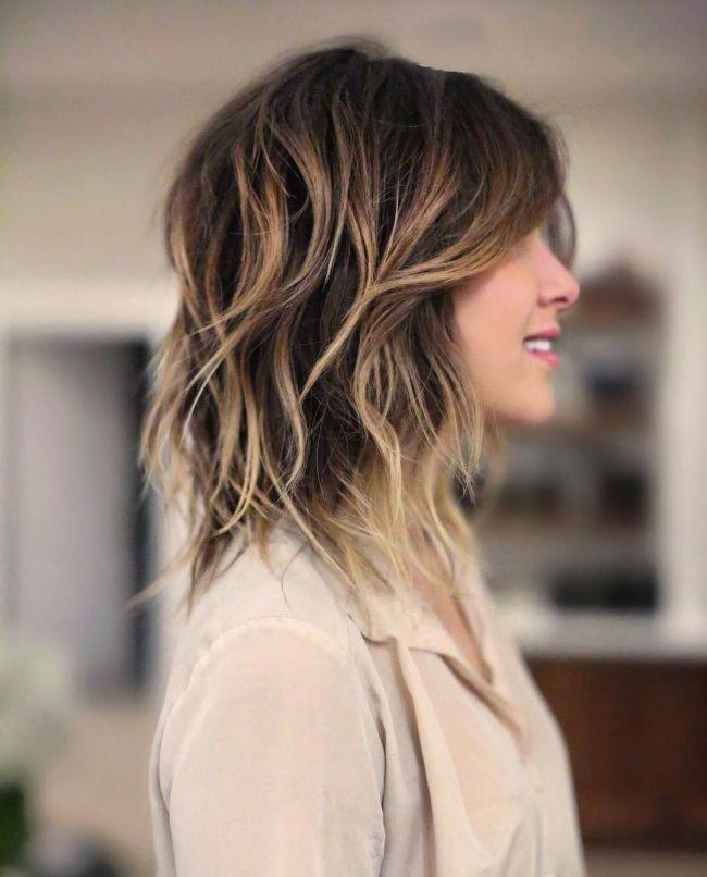 Idée Tendance Coupe Coiffure Femme 2017 2018 Cheveux Mi Longs