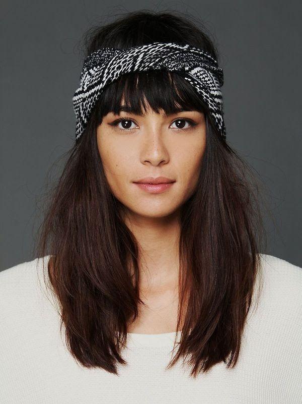 Id e tendance coupe coiffure femme 2017 2018 id es coiffure comment nouer porter foulard - Foulard pour cheveux tendance ...