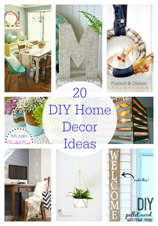 Best Decor Hacks 20 Diy Home Decor Ideas So Many Great