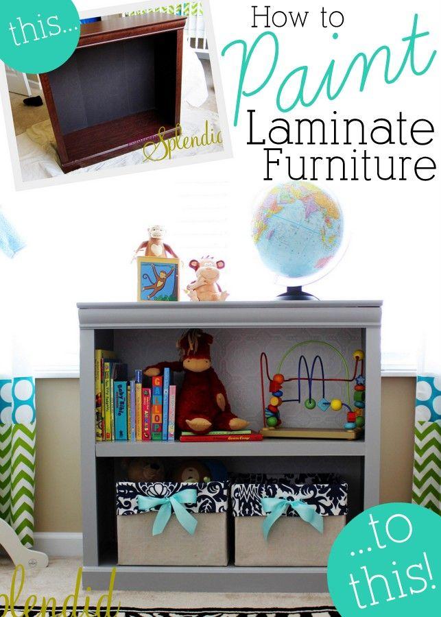 Etonnant Best Decor Hacks : How To Paint Laminate Furniture   Great ...