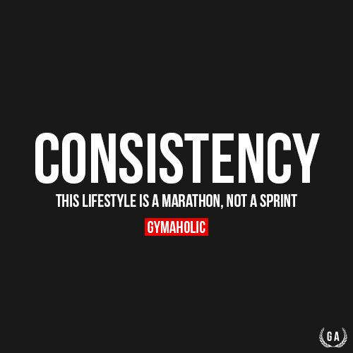 Motivational Quotes Consistency: Fitness Motivation : Consistency