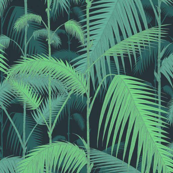 Home decorating diy projects palm jungle col vert cole son au fil des couleurs - Au fil des couleurs ...
