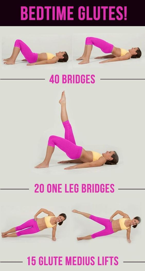 Fitness Motivation Butt Workouts For The Perfect Booty Glutes