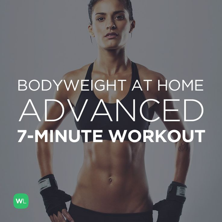 Fitness Motivation : FREE PDF: Bodyweight at Home Advanced 7