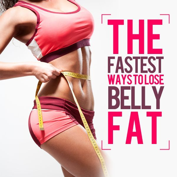 Fitness Motivation The Quickest Ways To Lose Belly Fat May