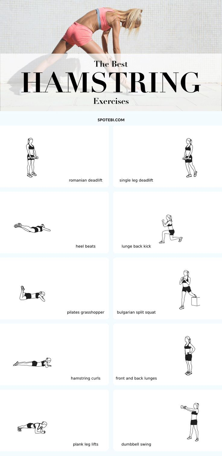 Fitness Motivation : Top 10 hamstring exercises to