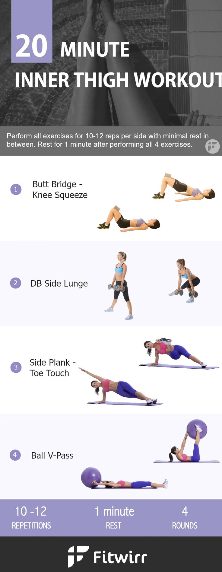 How to reduce thigh fat at home exercise