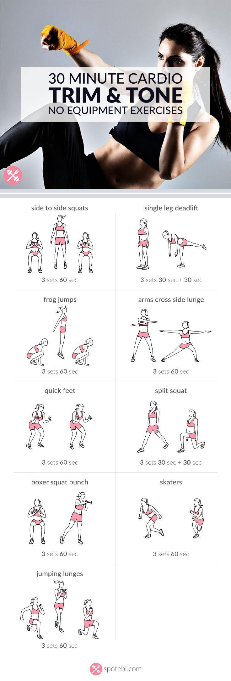 Cardio arm exercises