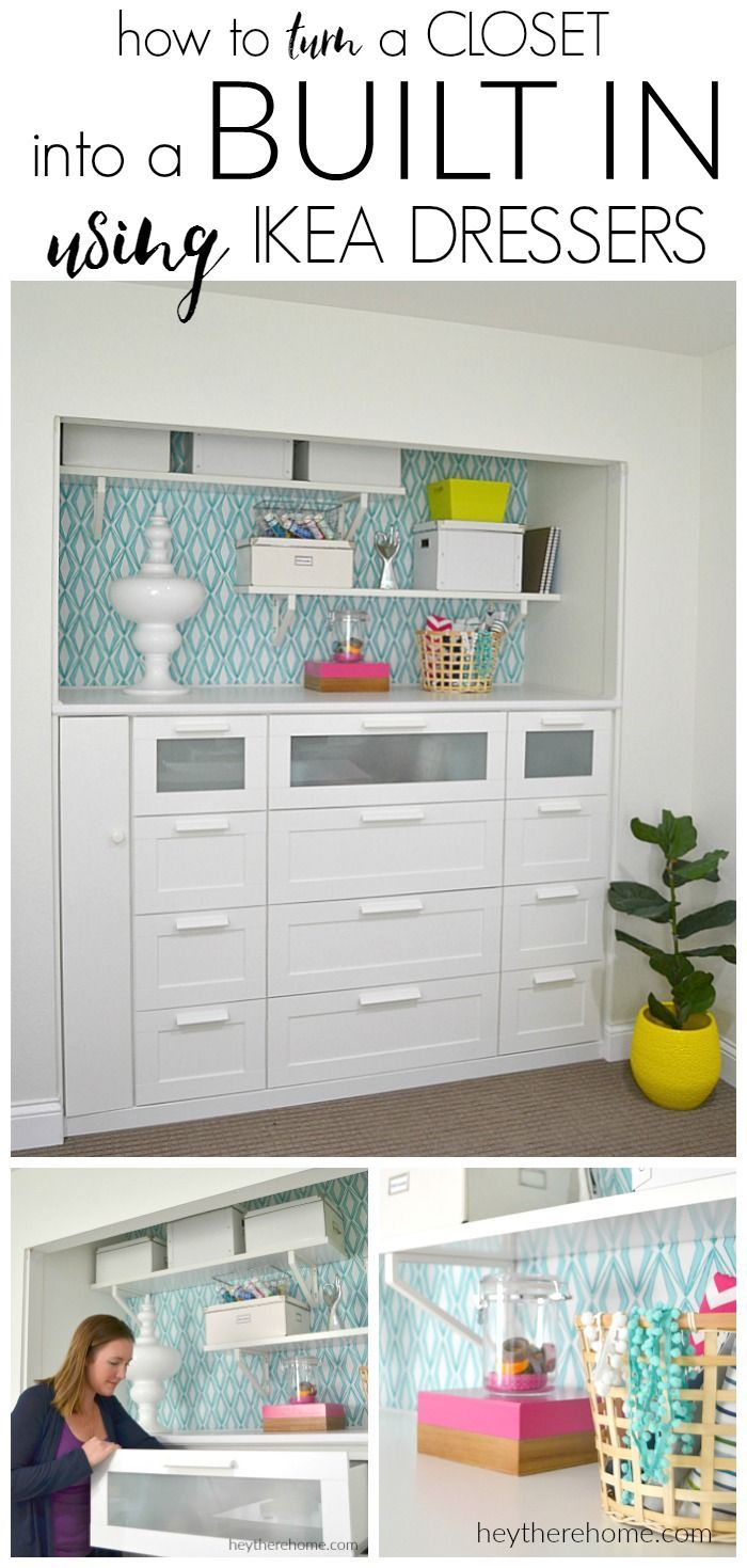 Best Decor Hacks Ikea Hack How To Turn A Standard Closet Into A