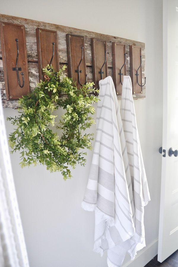 Home decor inspiration diy bathroom hooks liz marie for Home design inspiration blog