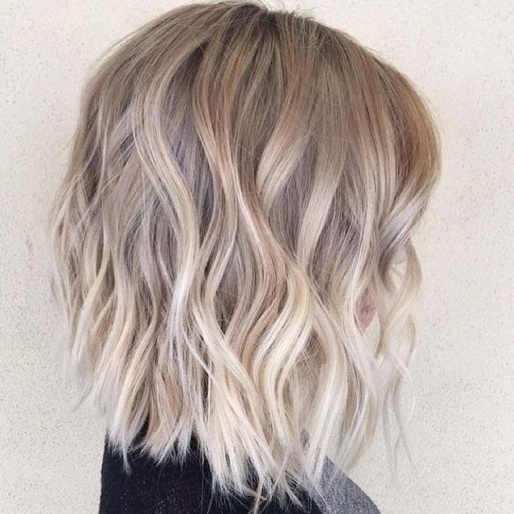 Idee Tendance Coupe Coiffure Femme 2017 2018 Couleur Balayage Blond