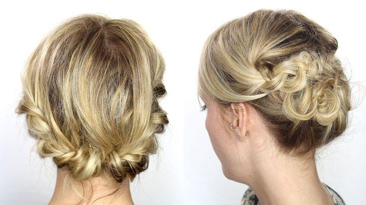 Coiffure des cheveux court
