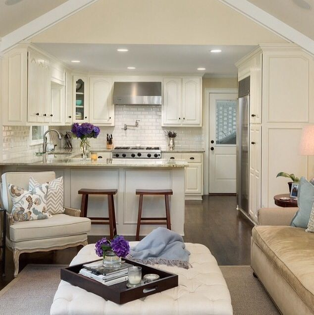 Styles Of Homes In Our Area: Home Decor Inspiration : Cute Cottage Style Main Living