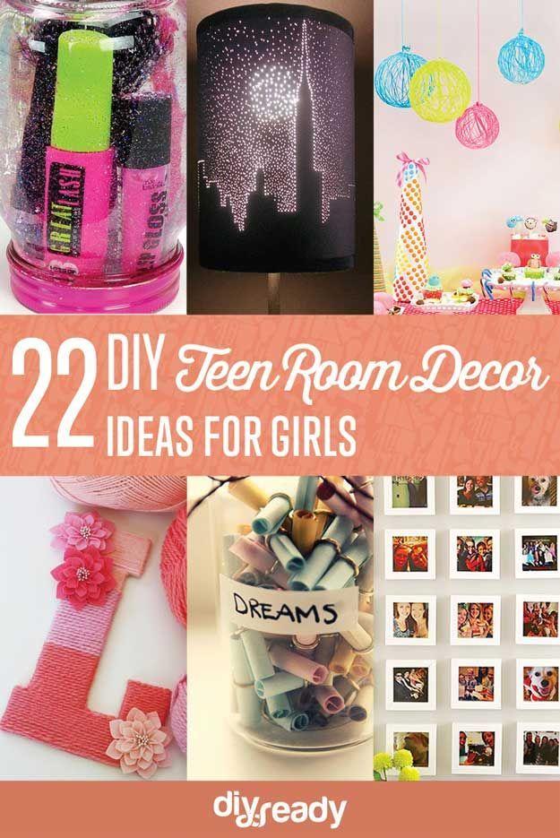 Home Decor Inspiration 22 Easy Teen Room Decor Ideas For Girls