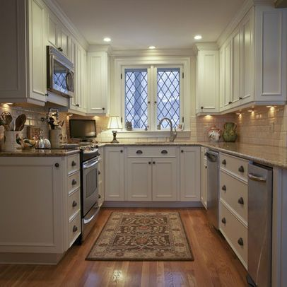 Home Decor Inspiration Traditional Kitchen Photos Small U Shaped