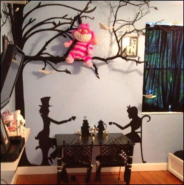 Home Decor Inspiration Alice In Wonderland Bedroom Decorating