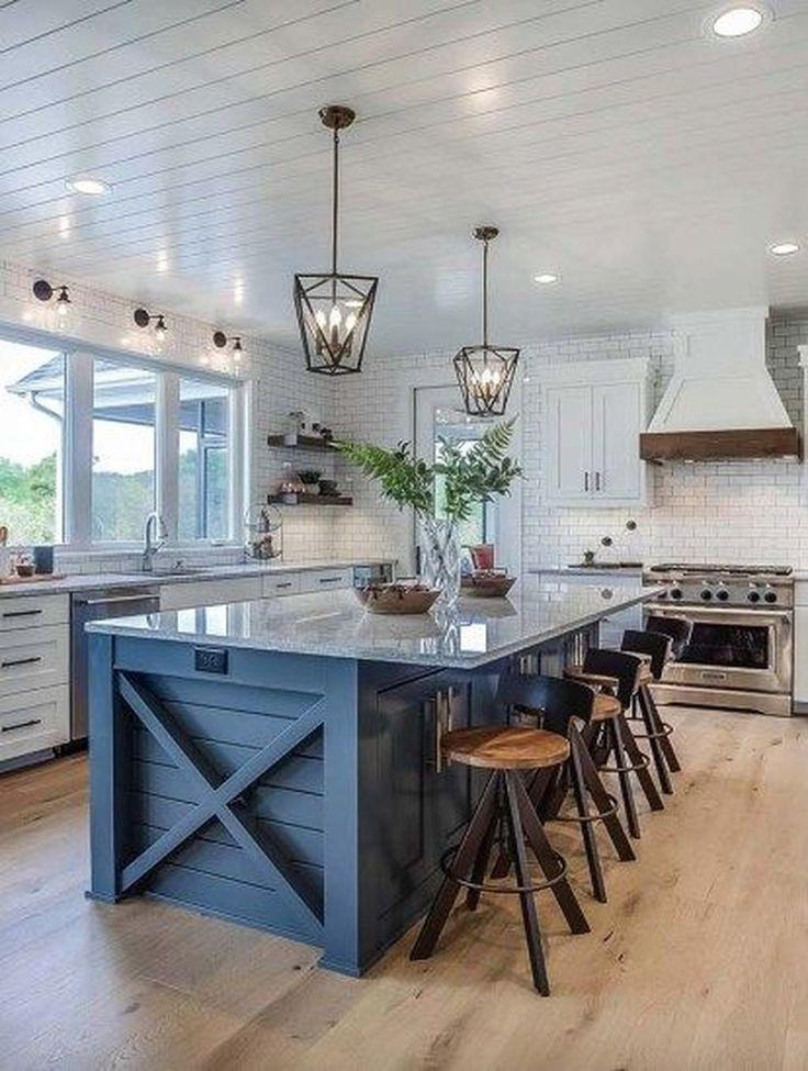 Home Decor Inspiration 39 Attractive Modern Farmhouse Kitchen