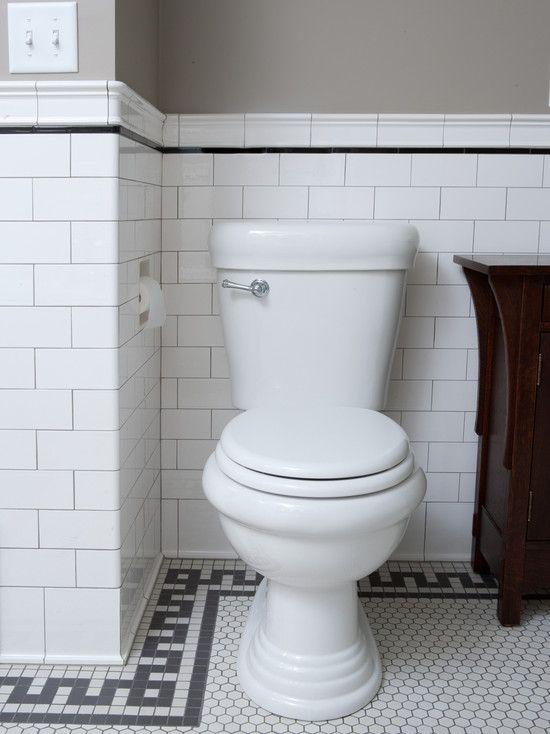 Home Architec Ideas Bathroom Design White Subway Tile