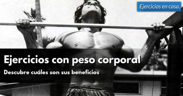 exercices de poids corporel