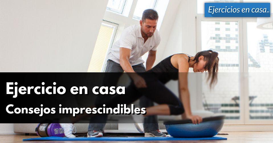 conseils pour faire de l'exercice à la maison