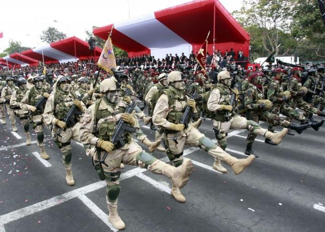 entrainement militaire