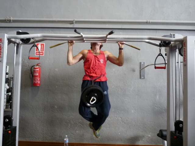 routine d'exercice pull-up